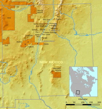 new mexico pueblo sites