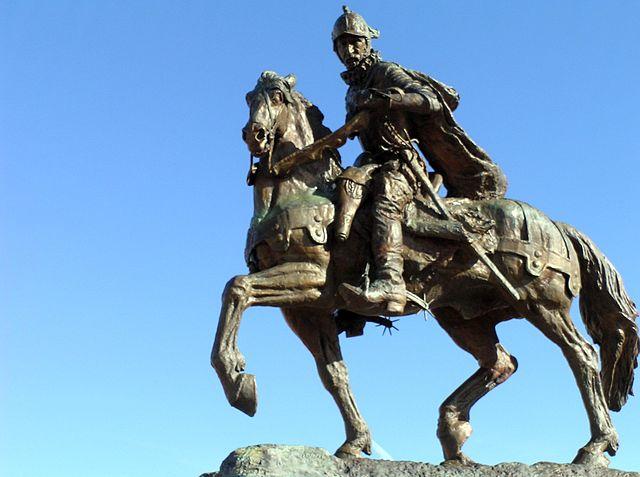 640px Juan de Onate on horse