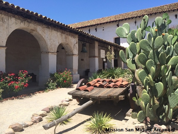 Mission San Miguel Arcangel web