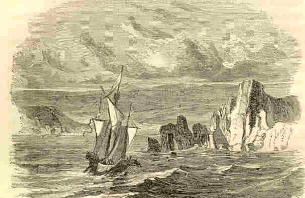 spanish ship on calif coast