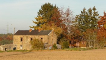 Cottage constructed out of Ardennes stone
