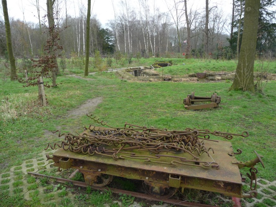 First World War trenches