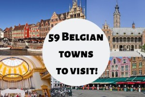 59 Belgian towns to visit