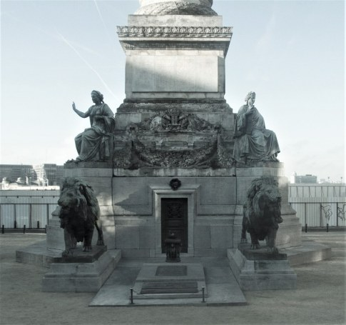 Tomb of the Unknown Soldier in Brussels