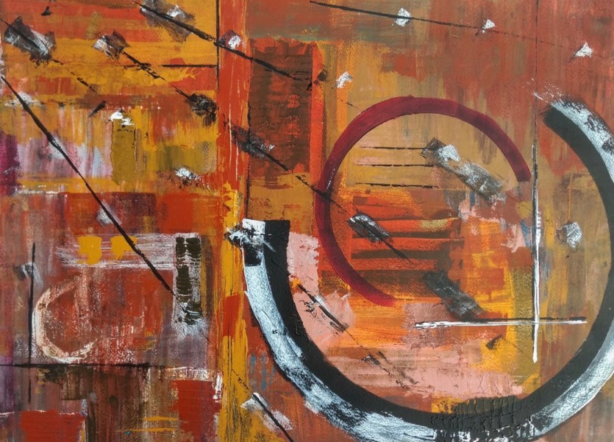 Oliver Van Dam has been painting for 20 years