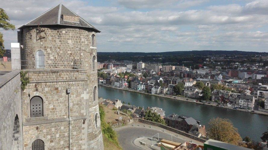 Namur citadel is a recommendation of Derek Blyth