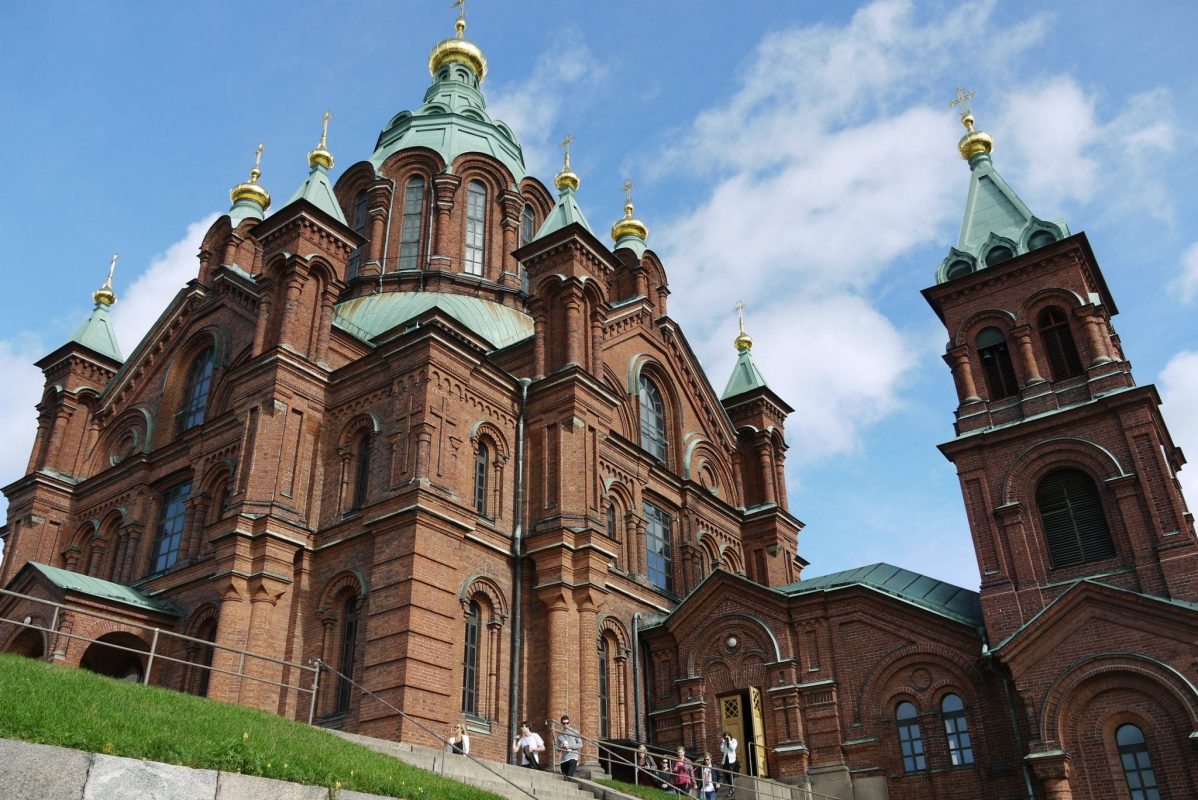 Uspenski Orthodox Cathedral Helsinki Discovering Finland
