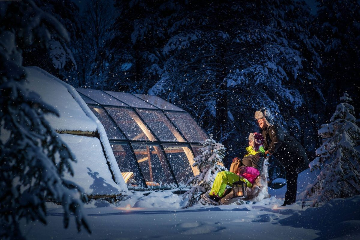 Holiday Northern Lights