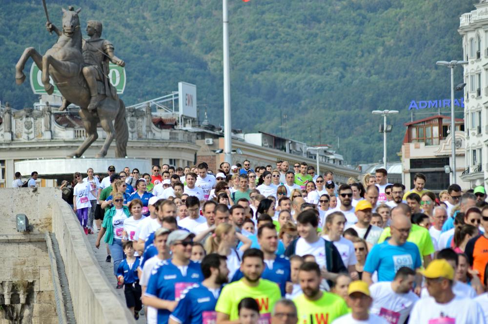 Skopje City Runners Stone Bridge