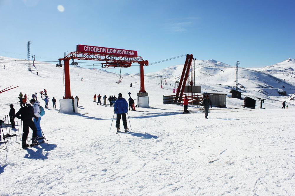 Mavrovo Winter Skiing Macedonia 3
