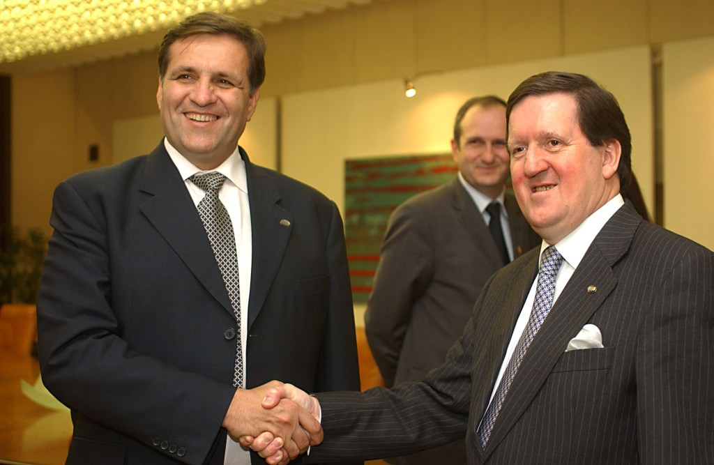 Boris Trajkovski President