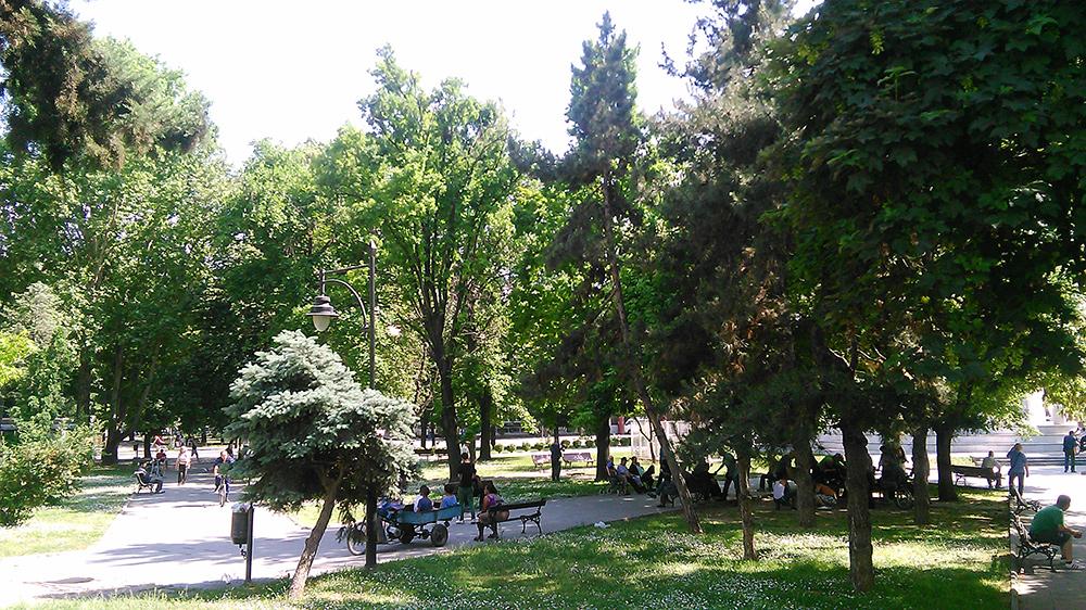 Women Warrior Park Skopje