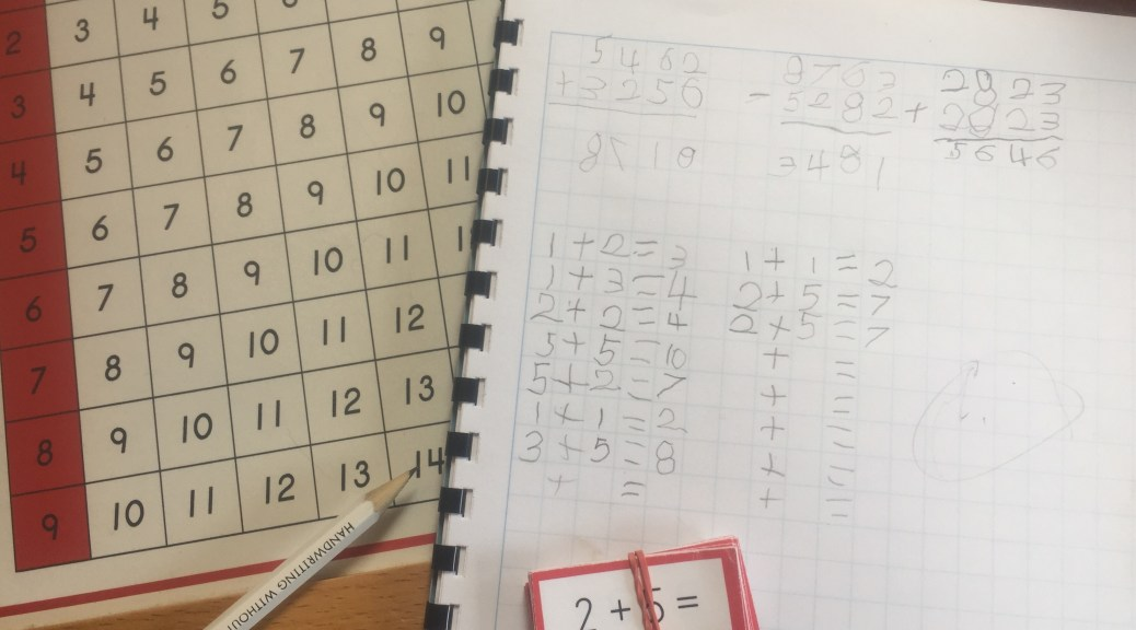 Preparing for Elementary Math Work – Discovering Our Way