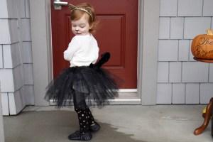 Evie's Halloween Costume