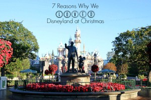 7 Reasons Why We Loved Disneyland At Christmas Time