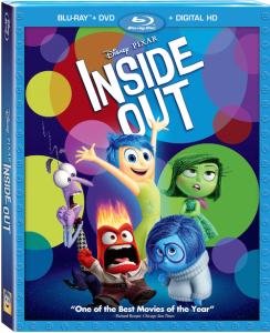 Inside Out is now available on Blue Ray
