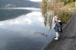 Places to See: A Picnic at Cultus Lake