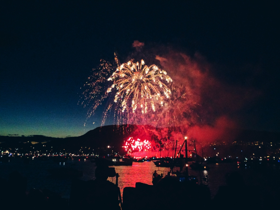 Honda Celebration of Light with Young Kids