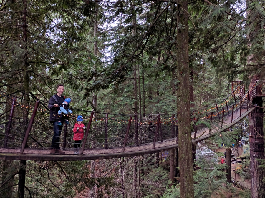 Capilano Suspension Bridge treetops adventure
