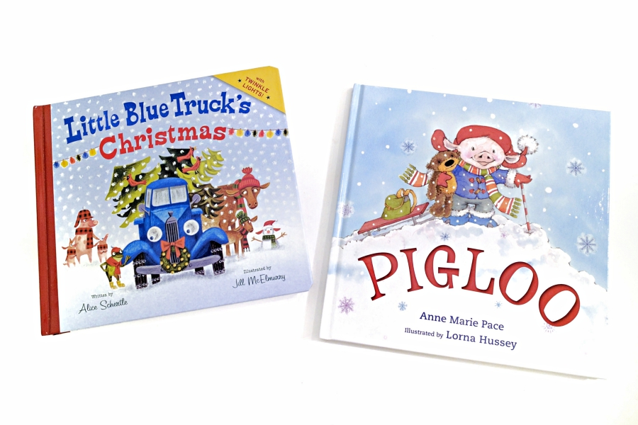 Little Blue Truck's Christmas and Pigloo