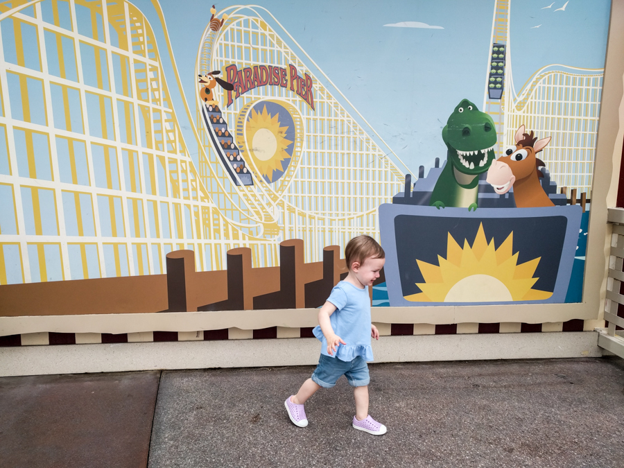 California Adventure. Toy Story Mania! Taking a toddler to Disneyland.