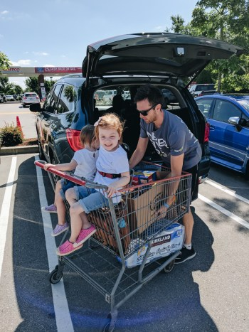 2017 Honda Pilot review, grocery shopping at Costco