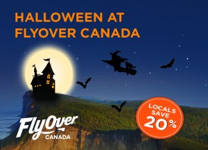 Halloween at FlyOver Canada {Event}