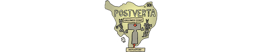 Map of Postverta