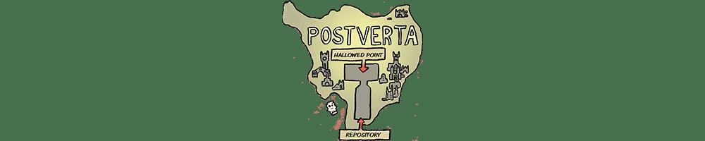 Map of Postverta