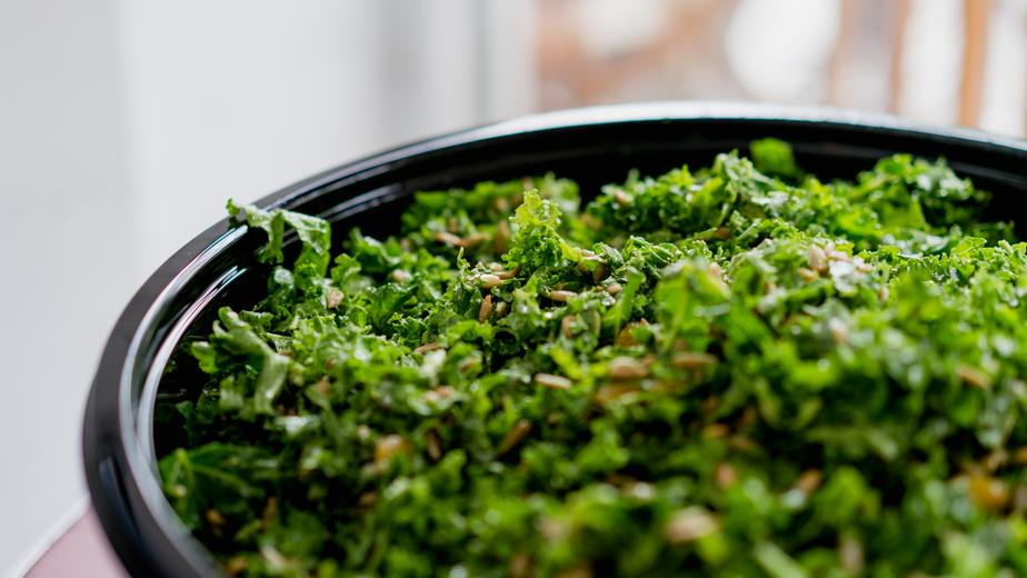 Kale with Sesame Seeds