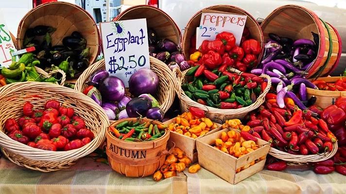 comida real mercado