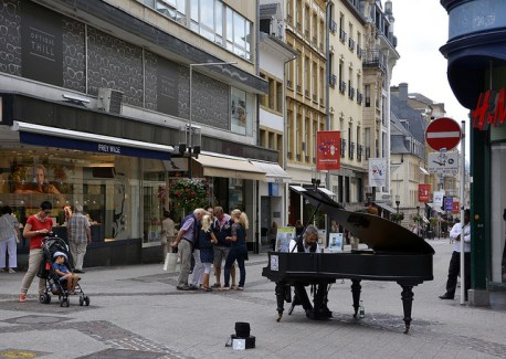 15 Street Pianos in Luxembourg
