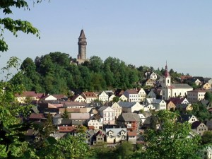 The town of Stramberk. Beskydy Mountain Beer Trail. Czech Beer Trails.