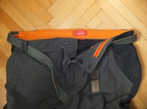 Bear Grylls Craghoppers trousers. Lined waist.