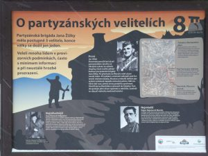 THE PARTISAN COMMANDERS The Jan Žižka partisan brigade had 3 successive commanders, by the end of the war, just one survived. Many people commanded it under temporary conditions, often with little information and under constant threat of betrayal.
