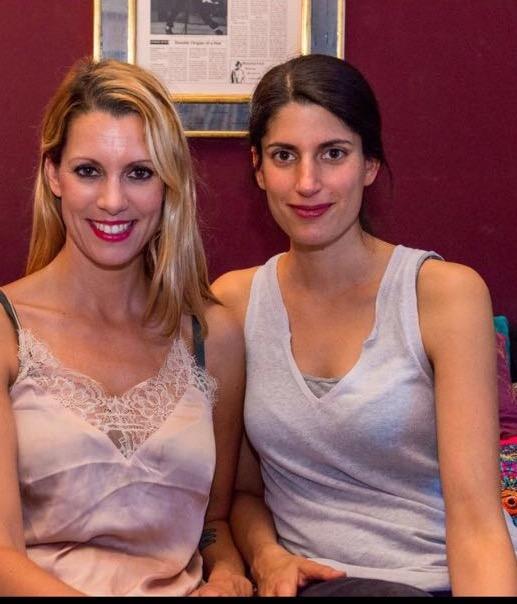 Katja Weber & friend