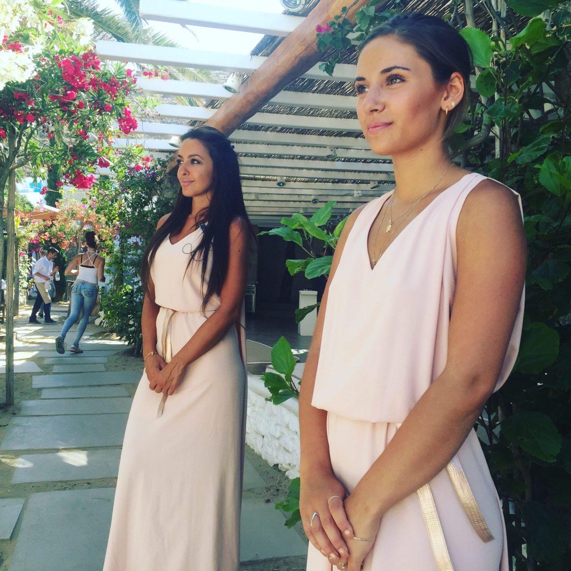 Beautiful hostesses