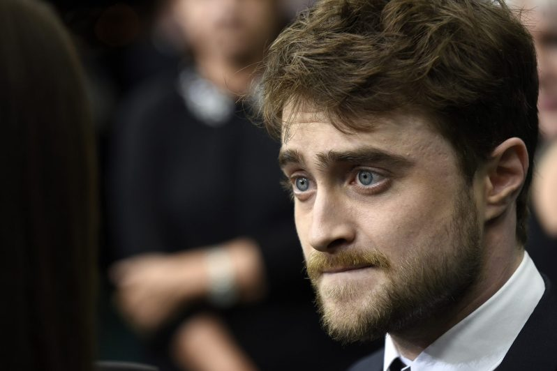 Daniel Radcliffe attends the 'Imperium' premiere