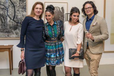 Tanja Schlager, Me, Bahareh Manzoni & Juan Paolo Zenz