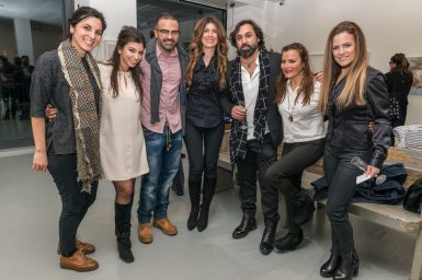 Leila, Bahareh, Rastad, Maryam, Michail, Shery & Nicole