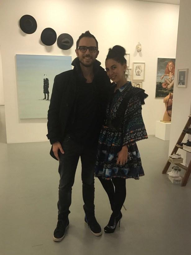 Alessandro Tschabold and Ariane Tavakol