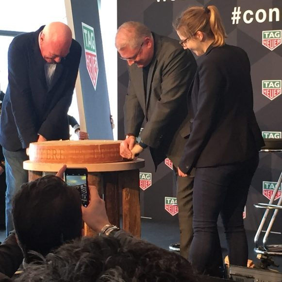 Cutting of the cheese with Intel VP