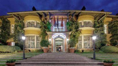 Entrance to Villa Principe Leopoldo