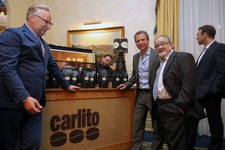 Owners of Carlito Coffee