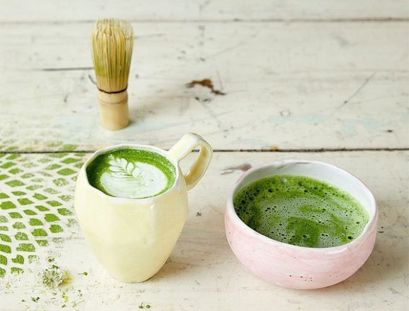The Butcher's Daughter Matcha Latte
