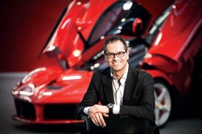 Flavio Manzoni, Head Designer Ferrari