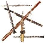 Woodwind Instrument Pile