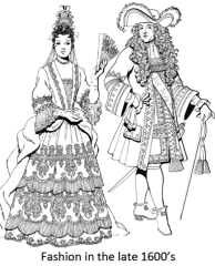 Fashion in 1600s