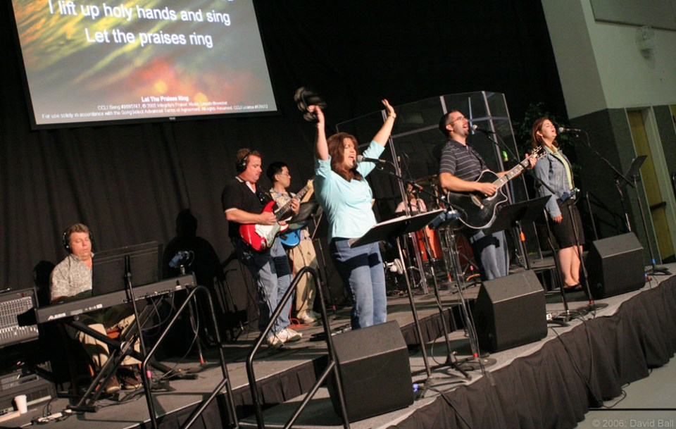 Worship team - music workshops in Edinburgh
