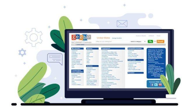 Geebo - American online classifieds marketplace